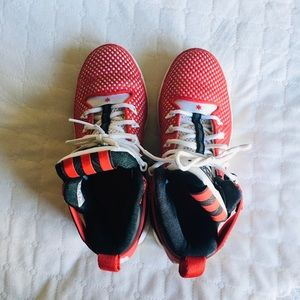 Derrick Rose Adidas Red Sneakers